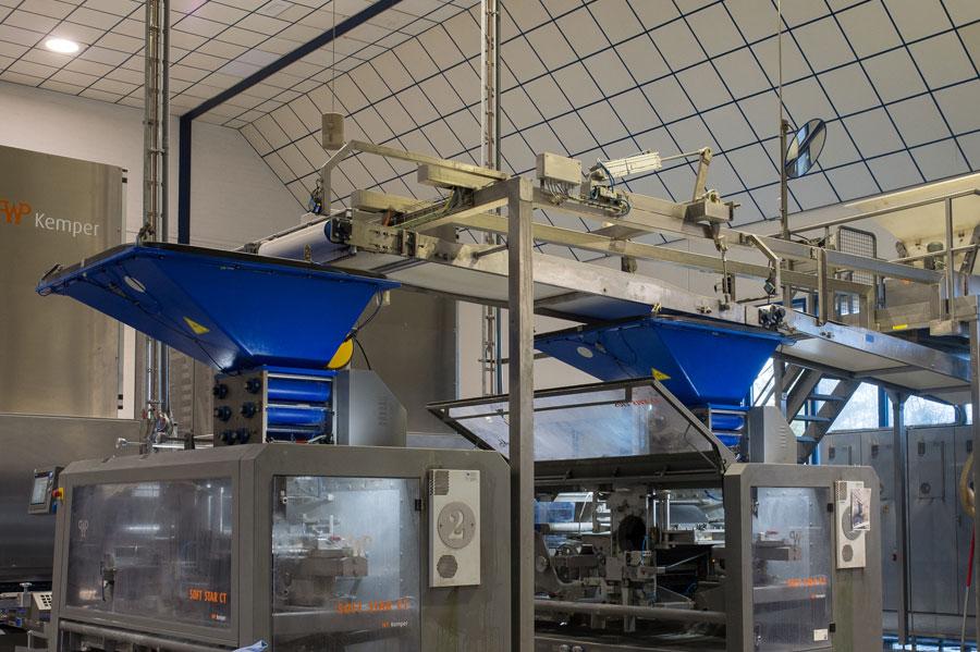 Modificatie productielijn