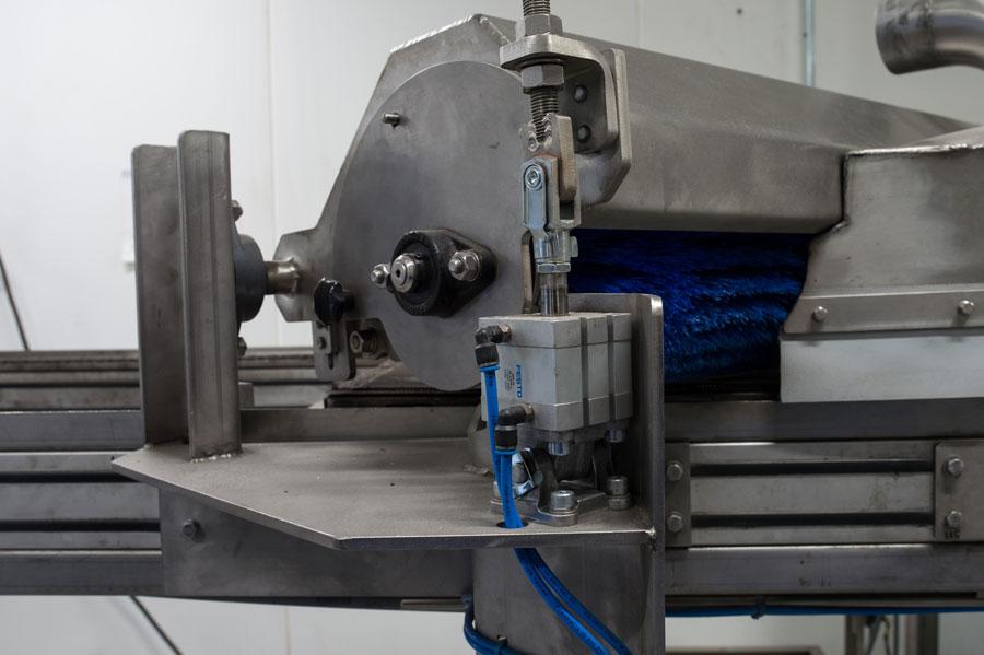 Enginering platenborstelmachine